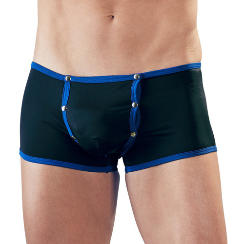 Boxer Shorts With Blue Details
